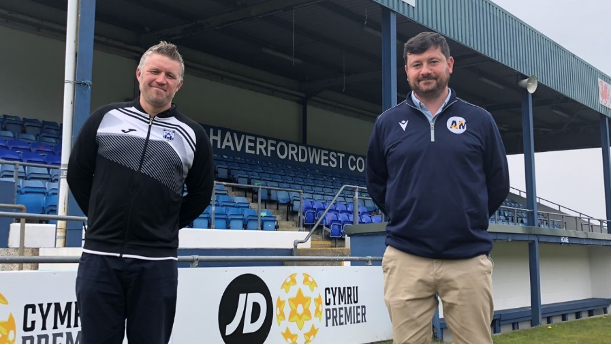 Achieve More Training Ltd set up a new Professional Learning Centre (PLC) with Haverfordwest FC in Pembrokeshire